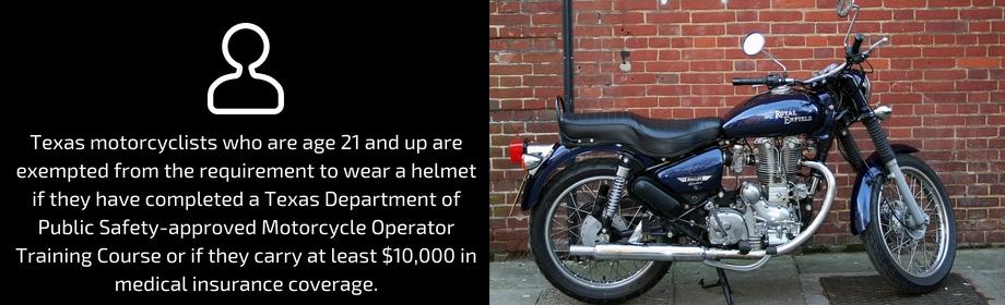 Use A Motorcycle Helmet