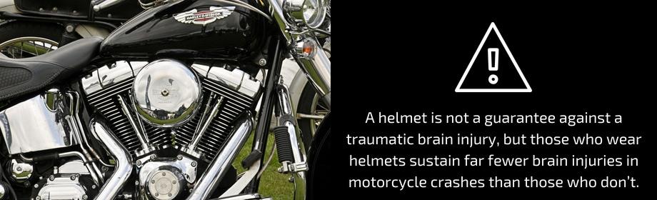 A Helmet Is Not A Guarantee