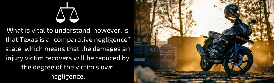 Motorcycle Driver's Negligence