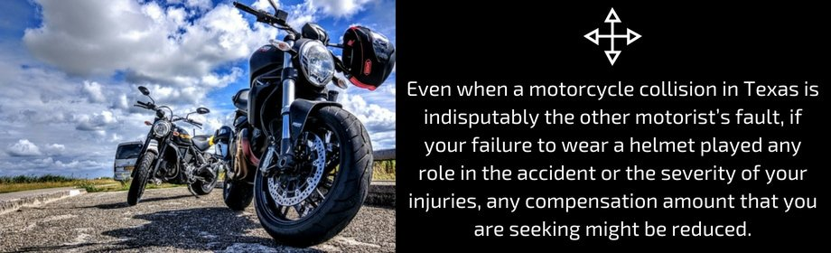 Not Wearing A Helmet May Affect The Injury Claim