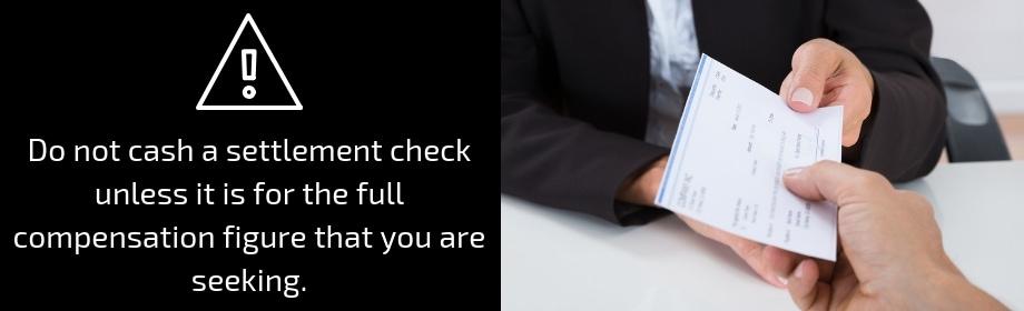 Low Offer Settlement Check